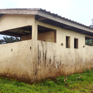 The Bankondji Middle school bathroom (back)
