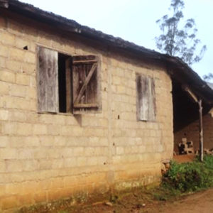 The current Middle school facility in Bankondji, Cameroon
