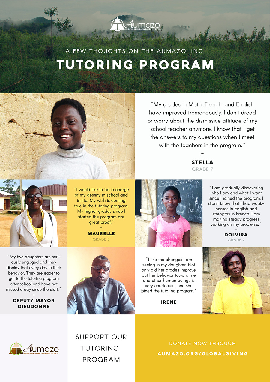 Aumazo Tutoring Program